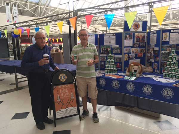 Ruislip Lions Stall at Hillingdon's Carers Fair @ The Mall Pavillions | England | United Kingdom