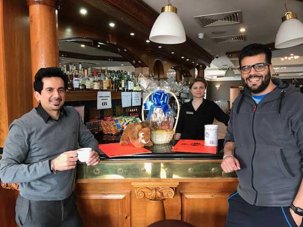 Another bar takes a Ruislip Lions Giant Easter Egg | Ruislip