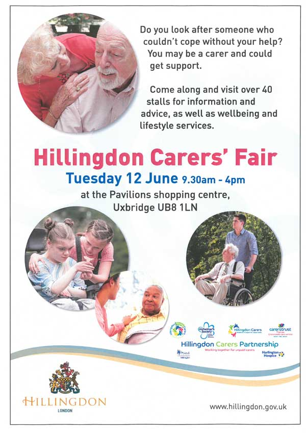Ruislip Lions attending Hillingdon Carers Fair @ Pavillions Shopping Centre | Uxbridge | England | United Kingdom